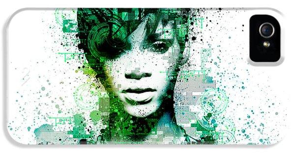 Rihanna 5 IPhone 5s Case by Bekim Art