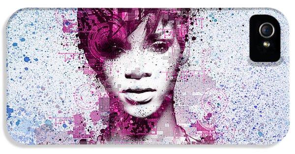 Rihanna 8 IPhone 5s Case by Bekim Art