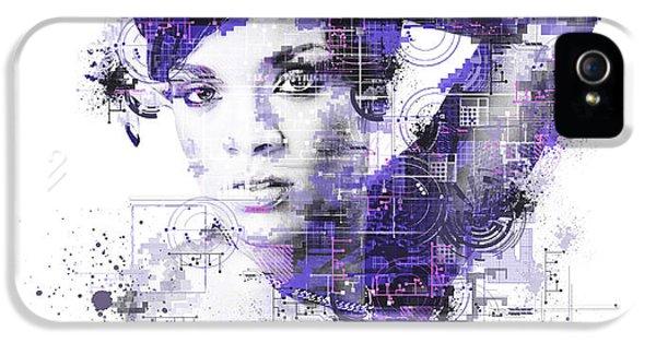 Rihanna IPhone 5s Case by Bekim Art
