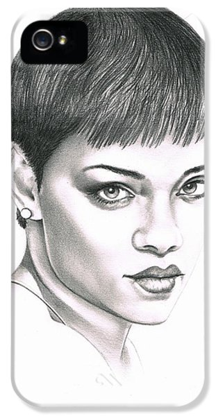 Rihanna iPhone 5s Case - Rihanna by Murphy Elliott