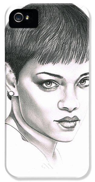 Rihanna IPhone 5s Case by Murphy Elliott