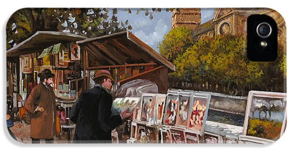 Rive Gouche IPhone 5s Case by Guido Borelli