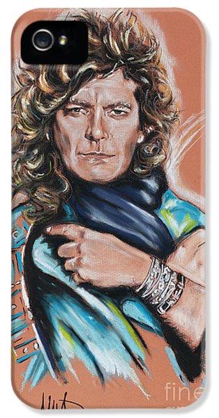 Robert Plant IPhone 5s Case by Melanie D
