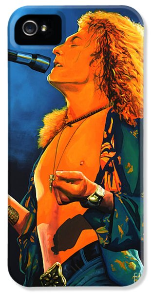 Robert Plant IPhone 5s Case by Paul Meijering