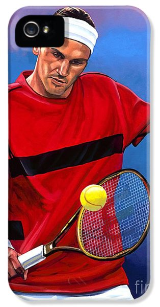 Roger Federer The Swiss Maestro IPhone 5s Case