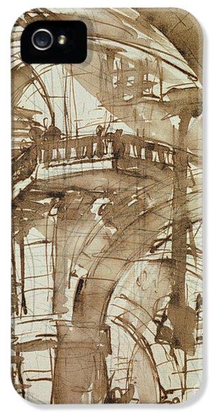 Dungeon iPhone 5s Case - Roman Prison by Giovanni Battista Piranesi