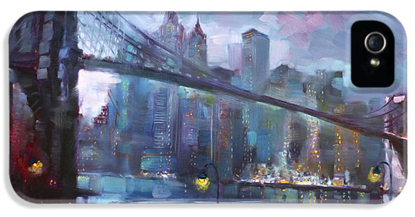 Romance By East River II IPhone 5s Case by Ylli Haruni