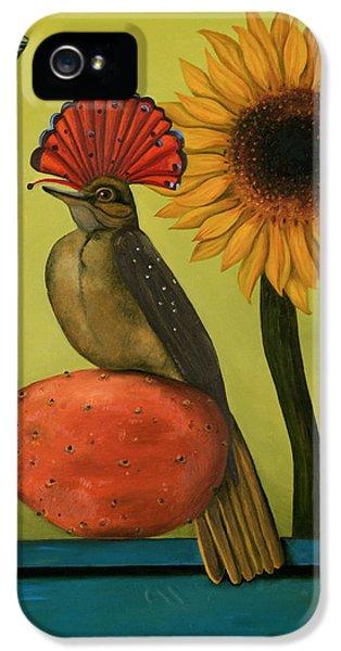 Flycatcher iPhone 5s Case - Royal Flycatcher  by Leah Saulnier The Painting Maniac