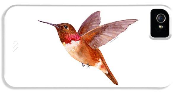 Rufous Hummingbird IPhone 5s Case