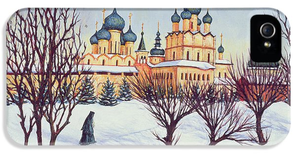 Russian Winter IPhone 5s Case by Tilly Willis