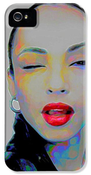 Rhythm And Blues iPhone 5s Case - Sade 3 by Fli Art