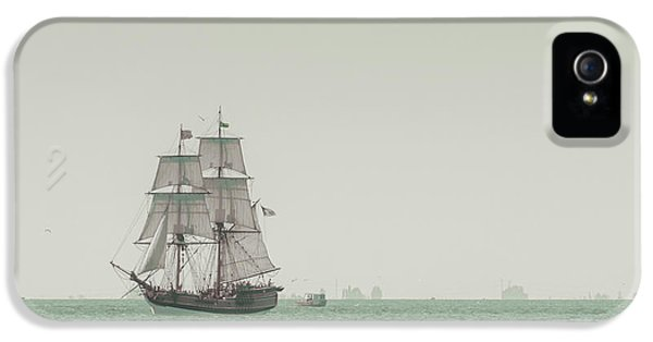 Boat iPhone 5s Case - Sail Ship 1 by Lucid Mood