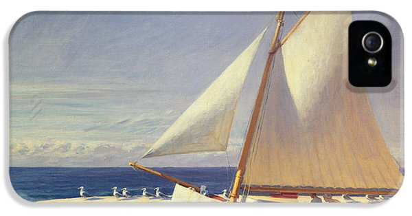 Boat iPhone 5s Case - Sailing Boat by Edward Hopper