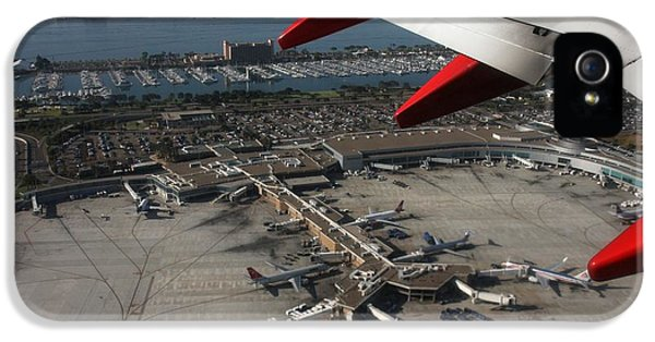 IPhone 5s Case featuring the photograph San Diego Airport Plane Wheel by Nathan Rupert