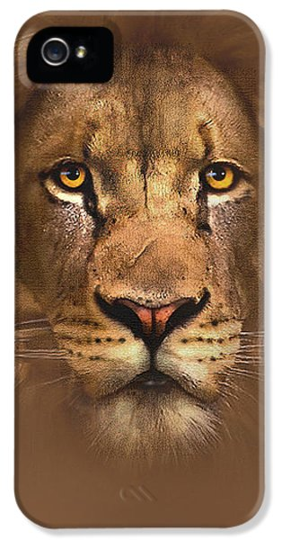 Scarface Lion IPhone 5s Case