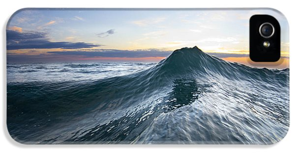 Water Ocean iPhone 5s Case - Sea Mountain by Sean Davey