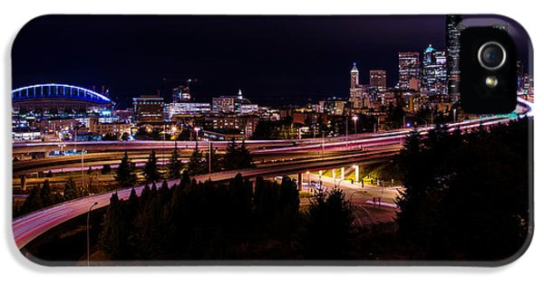Seattle iPhone 5s Case - Seattle Bend by Chad Dutson