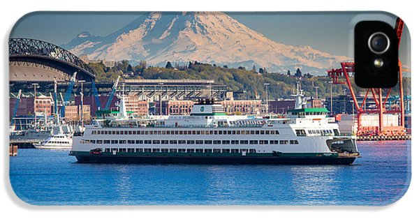 Seattle Harbor IPhone 5s Case by Inge Johnsson