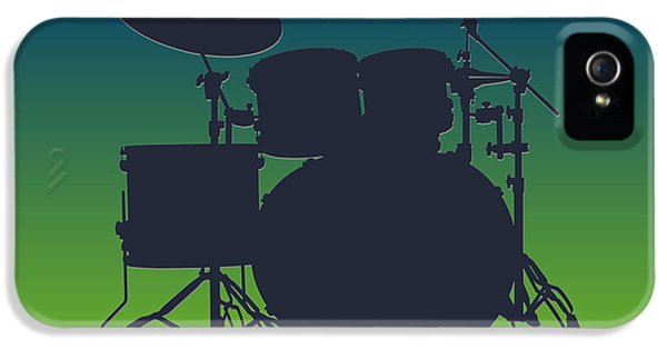 Seattle Seahawks Drum Set IPhone 5s Case by Joe Hamilton