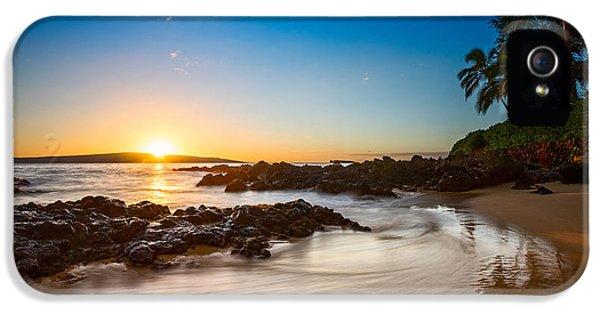 Water Ocean iPhone 5s Case - Secret Beach Sunset by Jamie Pham