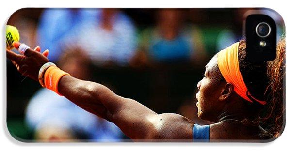 Serena Williams IPhone 5s Case by Srdjan Petrovic