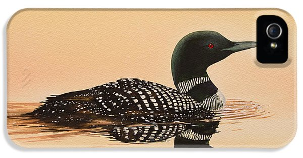 Loon iPhone 5s Case - Serene Beauty by James Williamson