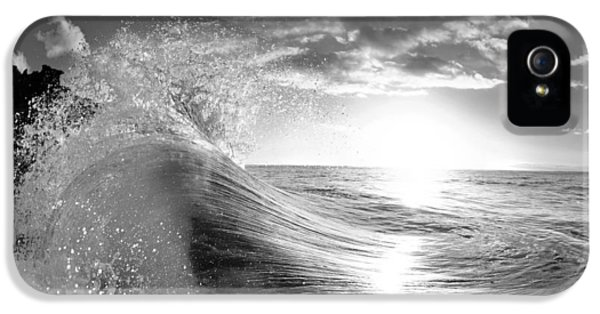Water Ocean iPhone 5s Case - Shiny Comforter by Sean Davey