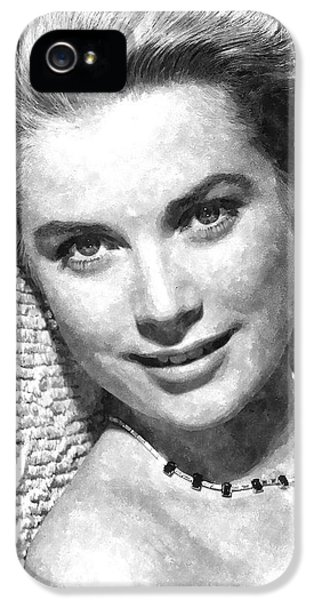 Simply Stunning Grace Kelly IPhone 5s Case by Florian Rodarte
