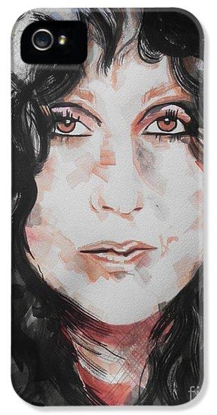 Sonny iPhone 5s Case - Singer Cher   by Chrisann Ellis