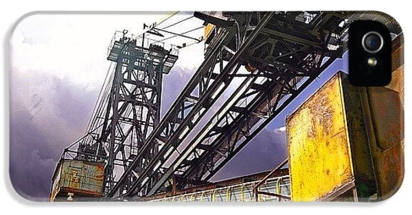 Detail iPhone 5s Case - #sky #architecture #industrie #summer by Phil Grubers