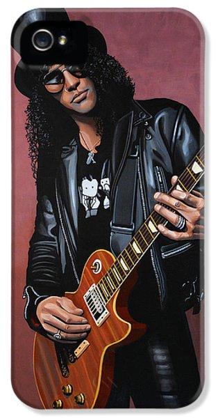 Musicians iPhone 5s Case - Slash by Paul Meijering