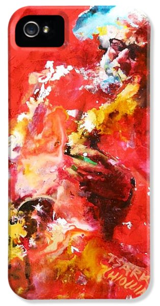 Sonny iPhone 5s Case - Sonny Rollins by Massimo Chioccia