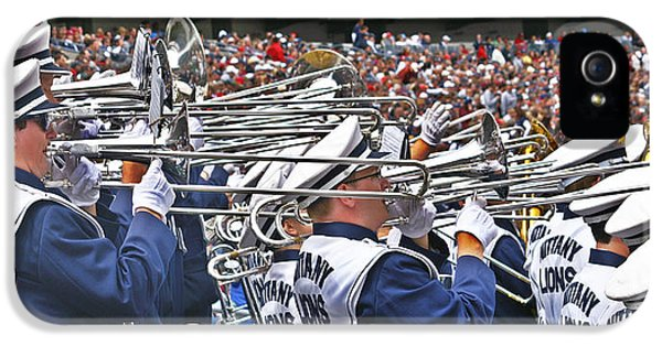 Penn State University iPhone 5s Case - Sounds Of College Football by Tom Gari Gallery-Three-Photography