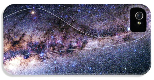 Emu iPhone 5s Case - Southern Milky Way by Babak Tafreshi