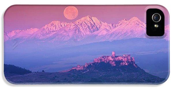 Mountain iPhone 5s Case - Spia? Fairy Tale by Marian Kmet