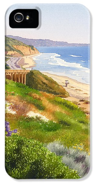 Planets iPhone 5s Case - Spring View Of Torrey Pines by Mary Helmreich