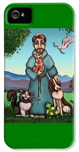 St. Francis Libertys Blessing IPhone 5s Case