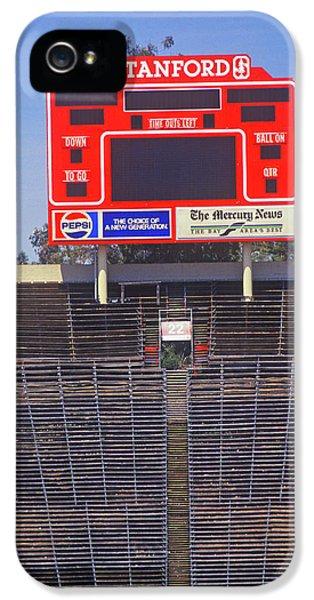 Stanford University Stadium In Palo IPhone 5s Case