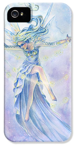 Fairy iPhone 5s Case - Star Dancer by Sara Burrier
