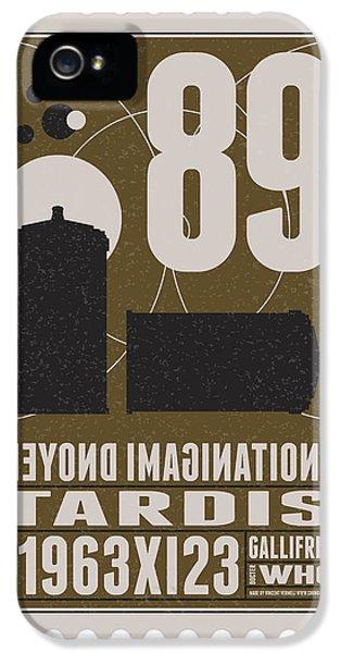 Science Fiction iPhone 5s Case - Starschips 89-bonus-poststamp - Dr Who - Tardis by Chungkong Art
