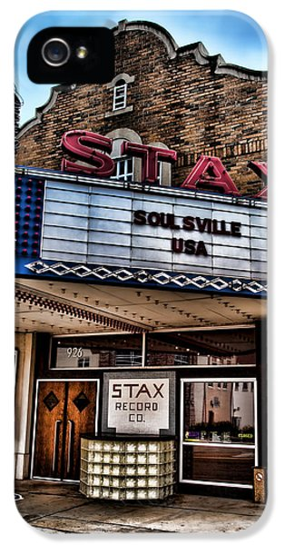 Stax Records IPhone 5s Case by Stephen Stookey