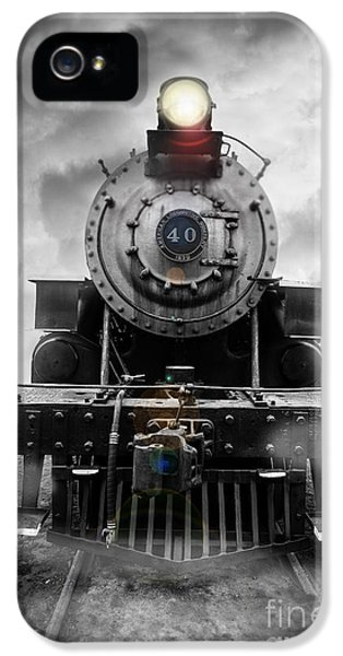 Train iPhone 5s Case - Steam Train Dream by Edward Fielding
