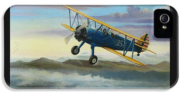 Stearman Biplane IPhone 5s Case by Stuart Swartz