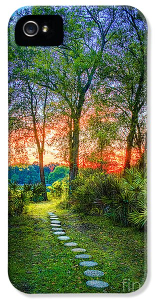 Stepping Stones To The Light IPhone 5s Case by Marvin Spates