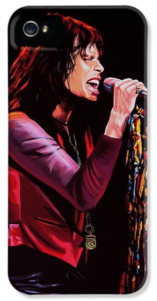 Steven Tyler IPhone 5s Case by Paul Meijering