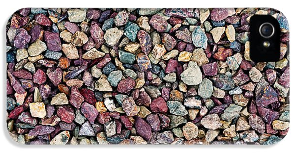 Stone Pebbles  IPhone 5s Case by Ulrich Schade