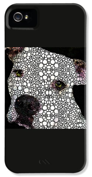 Stone Rock'd Dog By Sharon Cummings IPhone 5s Case