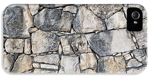 Stone Wall Texture IPhone 5s Case by Antony McAulay