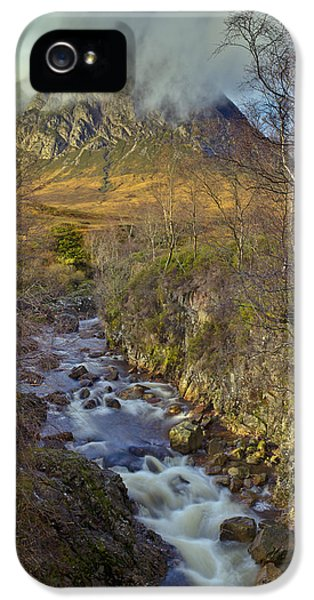 Stream Below Buachaille Etive Mor IPhone 5s Case