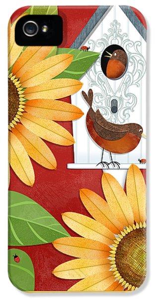 Sunflower Surprise IPhone 5s Case